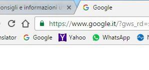 Aumentare la barra dei preferiti di Chrome