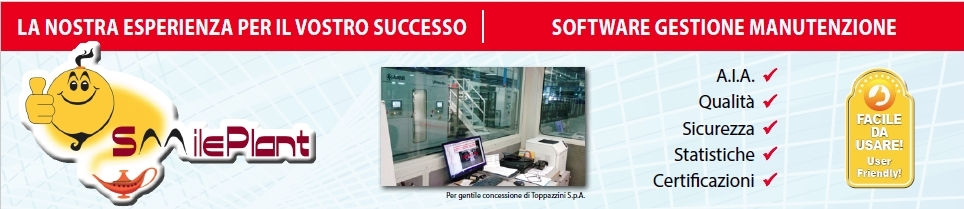 SmilePlant - software gestione manutenzione