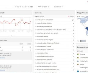Statistiche visitatori per WordPress