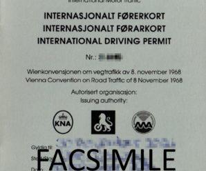 Come ottenere la patente di guida internazionale in Norvegia