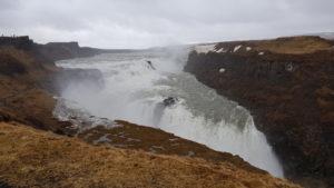 gullfoss waterfall island - cascate islanda