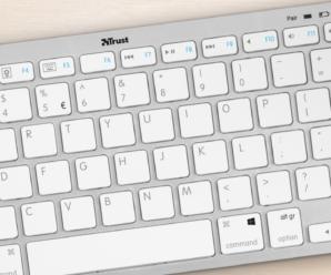 Mini tastiera Bluetooth Trust per tablet