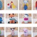 Bambole Amigurumi fatte a mano con tecnica Crochet