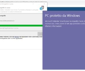 Installare applicazione con ClickOnce – Microsoft Defender SmartScreen