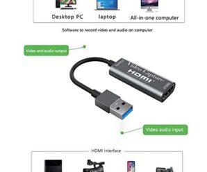 La miglior scheda economica di acquisizione video HDMI USB | Come iniziare a fare streaming su Youtube, Twitch, Facebook