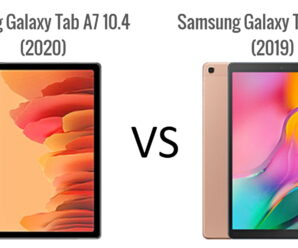 Sammenligning mellom Samsung Galaxy Tab A 2019 10.1″ (T510) og Galaxy Tab A7 2020 10.4″ (T500)