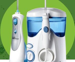 Recensione idropulsore Waterpik WP-400 | lavaggio denti con acqua a pressione per chi usa apparecchi ortodontici